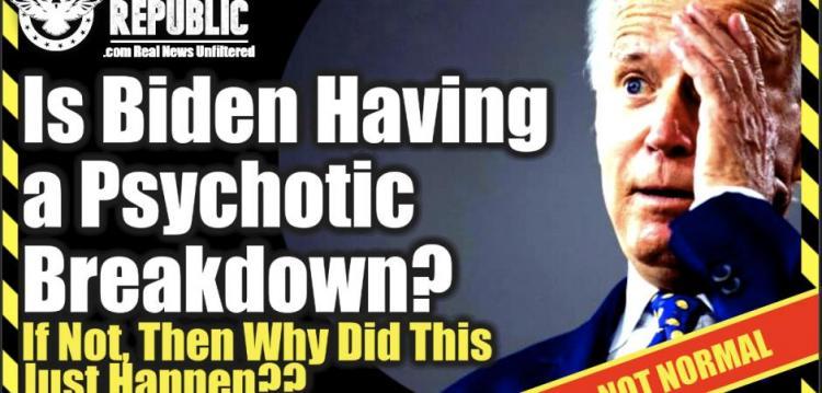 Λίζα Χέιβεν : Ο Μπάιντεν παθαίνει ψυχωτική κρίση;! Αν όχι, τότε γιατί μόλις συνέβη αυτό… & γιατί τα ΜΜΕ σιωπούν!