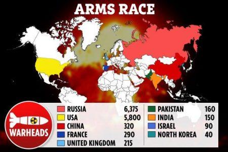 ΑΠΟΚΑΛΥΨΗ ΤΩΡΑ! Η ανθρωπότητα στα πρόθυρα του πυρηνικού αφανισμού με την υψηλότερη απειλή εδώ και 40 ΧΡΟΝΙΑ, προειδοποιεί ο επικεφαλής του ΟΗΕ σε ανατριχιαστικό μήνυμα.
