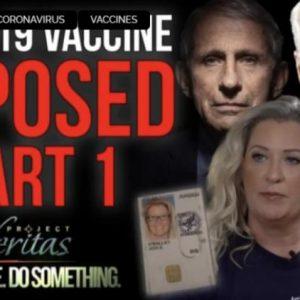 Project Veritas: Εμβολιασμοί COVID, Αποκαλυπτικές απόρρητες ηχογραφήσεις από την πληροφοριοδότη της Ομοσπονδιακής Κυβέρνησης των ΗΠΑ (video).