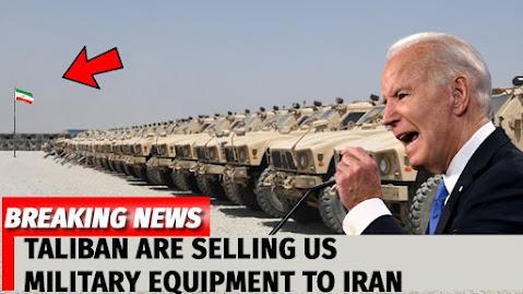 Σοκ Στις ΗΠΑ: Το Ιράν Αγόρασε Τον Εγκαταλελειμμένο Αμερικανικό Στρατιωτικό Εξοπλισμό Από Τους Ταλιμπάν!