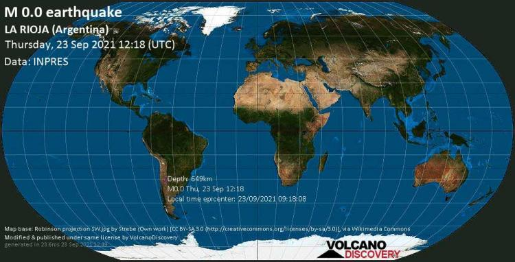 Σεισμός μεγέθους 9,5 Ρίχτερ στην Αργεντινή πριν λίγο.