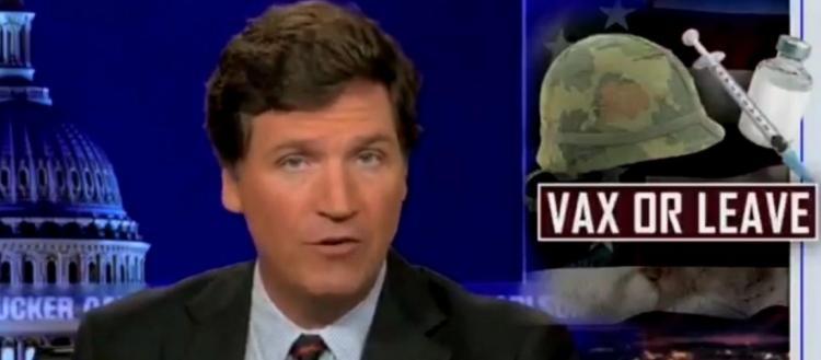 Τ.Κάρλσον του Fox News: «Ο υποχρεωτικός εμβολιασμός γίνεται για να εντοπίσει το σύστημα ποιοι είναι οι αντίπαλοί του»