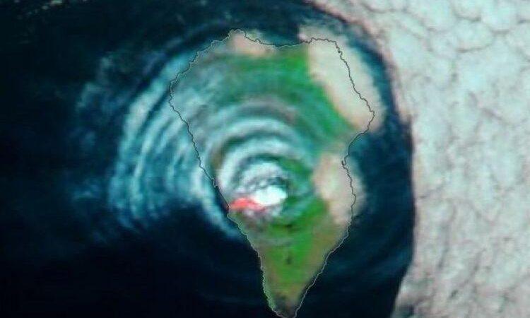 """Αμερική, έχουμε μια κατάσταση. Η La Palma κουνιέται τόσο άσχημα, που εκπέμπει """"κύματα βαρύτητας"""" (βίντεο)."""
