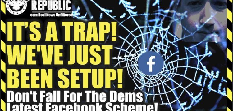 ΛΙΖΑ ΧΕΙΒΕΝ : ΕIΝΑΙ ΜΙΑ ΠΑΓIΔΑ! Μας έχουν στήσει παγίδα! Μην πέσετε στην παγίδα του τελευταίου σχεδίου των Δημοκρατικών στο Facebook!
