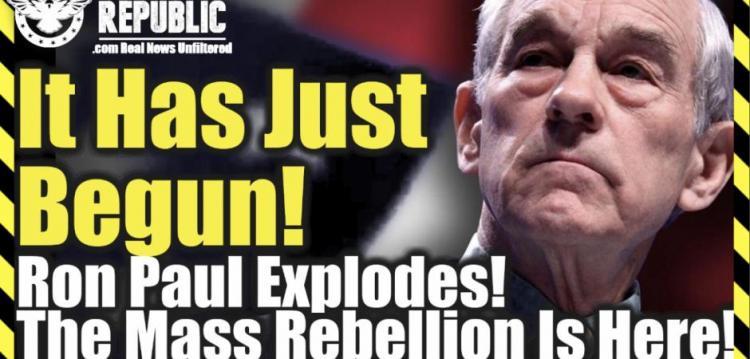 """Λίζα Χέιβεν : Μόλις άρχισε! Ο Ρον Πολ εκρήγνυται """"Η μαζική εξέγερση είναι εδώ!"""