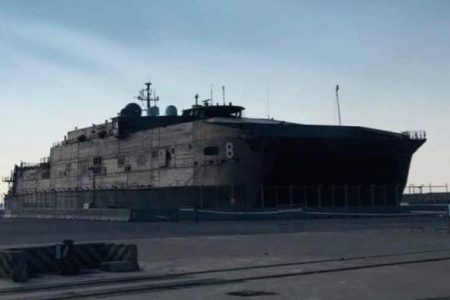 Το USNS Yuma στην Αλεξανδρούπολη: Η μεγαλύτερη στρατιωτική απόβαση Αμερικανών στην Ελλάδα.